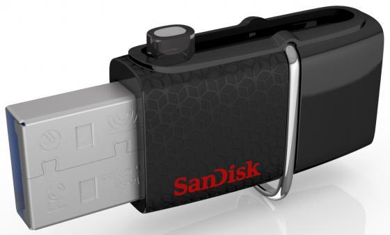 цена на Флешка USB 256Gb Sandisk Ultra Android Dual USB SDDD2-256G-GAM46 черный