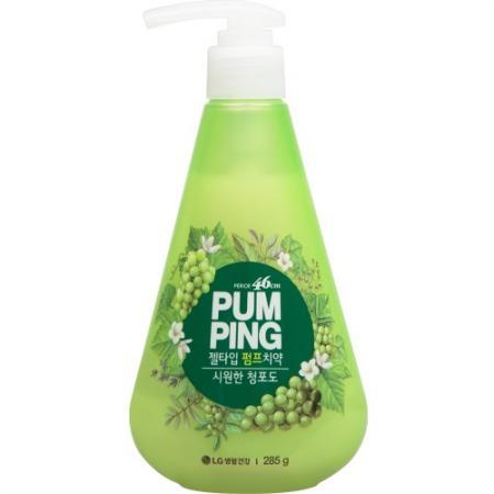 PERIOE Зубная паста c ароматом зеленого винограда Green Grape Pumping Toothpaste 285 г