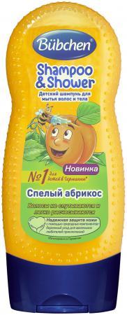 Шампунь Bubchen Спелый Абрикос 230 мл гель для душа bubchen шампунь абрикос