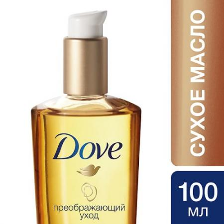 DOVE Сухое масло для волос Advanced Hair Series Преображающий уход 100мл dove крем ополаскиватель для волос advanced hair series преображающий уход 250мл