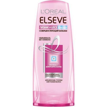 LOREAL ELSEVE Бальзам-ополаскиватель для волос питание и блеск Кристал 200мл l u0027oreal elseve питание и обогащение