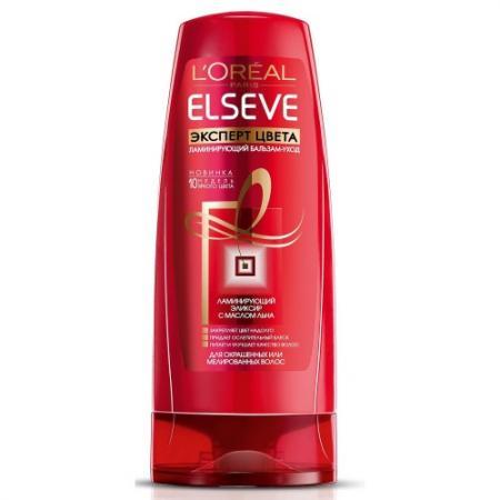 LOREAL ELSEVE Бальзам-ополаскиватель для волос Эксперт цвета 400мл l u0027oreal elseve питание и обогащение
