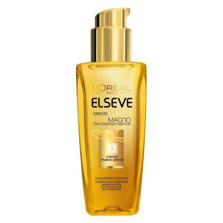 LOREAL ELSEVE Масло экстраординарное для волос универсальное 100мл
