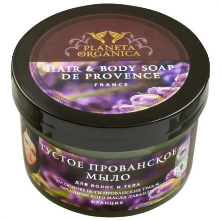 PLANETA ORGANICA Мыло для волос и тела Густое прованское мыло 300 мл planeta organica масло для тела бразильское для похудения 300 мл