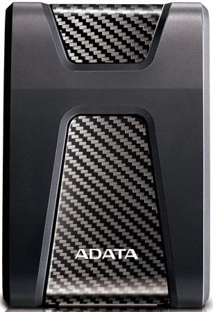 Внешний жесткий диск 2.5 USB3.1 2Tb Adata HD650 AHD650-2TU31-CBK черный внешний жесткий диск lacie stfr2000800 2tb rugged mini usb c 2 5