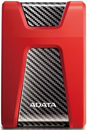 "Внешний жесткий диск 2.5"" USB3.1 2Tb Adata AHD650 AHD650 -2TU31-CRD красный цена и фото"