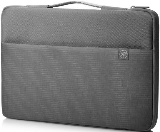Чехол для ноутбука 15.6 HP Carry Sleeve серый 1PD67AA аккумулятор для ноутбука hp compaq hstnn lb12 hstnn ib12 hstnn c02c hstnn ub12 hstnn ib27 nc4200 nc4400 tc4200 6cell tc4400 hstnn ib12