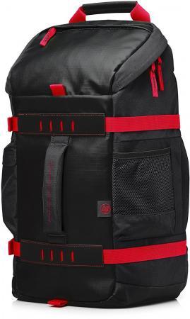 """Рюкзак 15.6"""" HP Odyssey полиэстер черный красный X0R83AA"""
