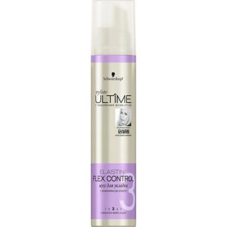 """Мусс для волос Essence ULTIME """"Elastin Flex Control"""" 200 мл 2012358 сыворотки essence ultime сыворотка omega repair 50 мл"""