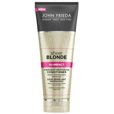 Кондиционер John Frieda Sheer Blonde. Hi-Impact 250 мл 2273401 майка спортивная nike nike ni464ewbblf1