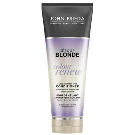 Кондиционер John Frieda Sheer Blonde. Сolour Renew 250 мл lace up sheer tank top
