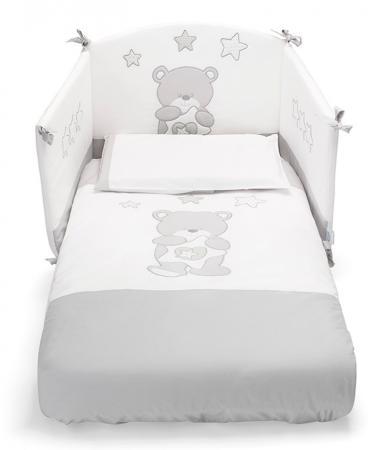 Комплект постельного белья 3 предмета Erbesi Birba (белый) комплект постельного белья 3 предмета erbesi brillante белый