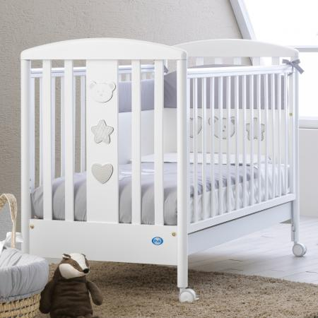 Кроватка Pali Merlino (белый)