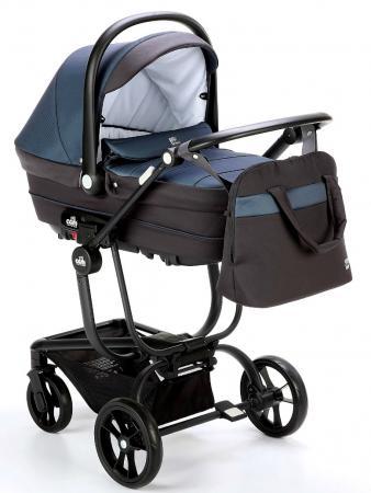 Коляска 3-в-1 Cam Comby Taski (697/синий-графит) cam коляска 3 в 1 dinamico elite up cam бежевый
