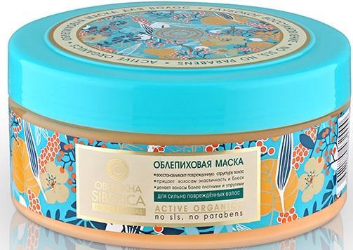 Natura Siberica Маска облепиховая для поврежденных волос300мл недорого