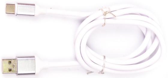 Кабель Type-C 1м Harper SCH-730 круглый белый H00001630 harper sch 730 orange кабель usb type c 1 м
