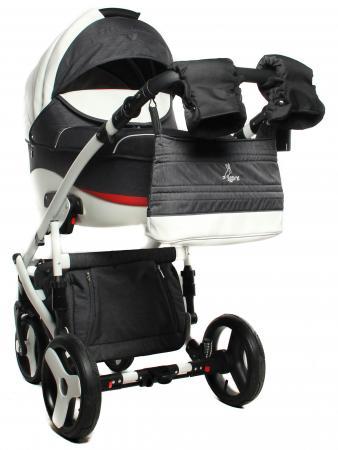 Коляска 2-в-1 Lepre Formula Elegant (шасси white/цвет 04) детская коляска 2 в 1 esspero discovery grand шасси black