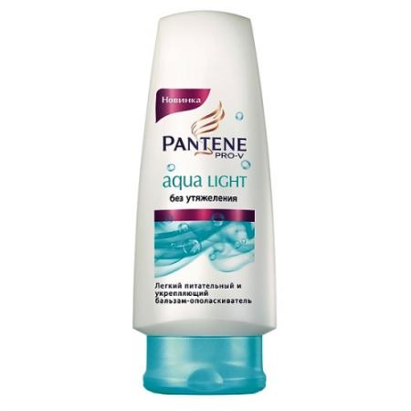 PANTENE Бальзам Aqua Light питательный и укрепляющий для тонких склонных к жирности волос 200мл aqua lung tri light pro