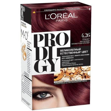 LOREAL PRODIGY Краска для волос тон 4.26 Гранат