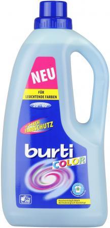 Жидкое стредство для стирки BURTI Color Liquid 1.5л 1221448 жидкое стредство для стирки burti noir 3л