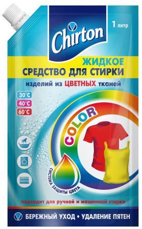 Жидкое стредство для стирки CHIRTON 49994 1л жидкое стредство для стирки chirton 1л