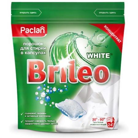 Стиральный порошок PACLAN Brileo 24шт для белого эвалар формула сна усиленная формула 30 капсулы