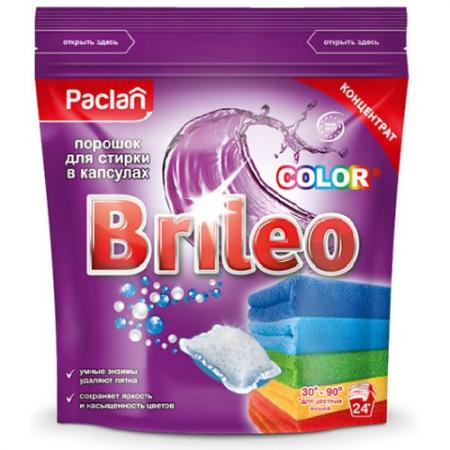 Купить Стиральный порошок PACLAN Brileo 24шт для цветного