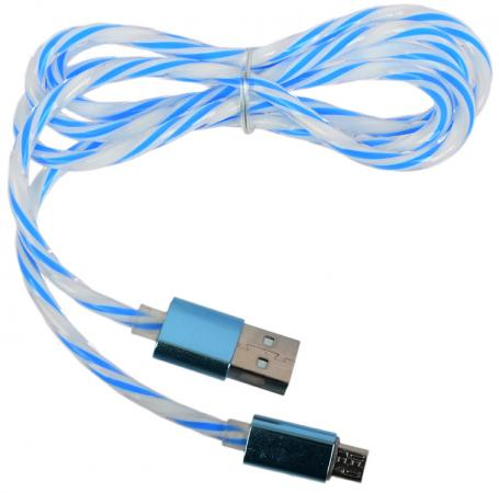 Кабель microUSB 1м LP 0L-00030553 витой кабель usb lp microusb зелен