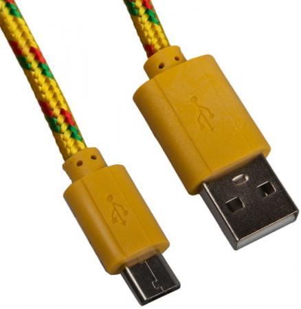 Фото Кабель microUSB 1м LP 0L-00000950 круглый кабель usb lp microusb сирен