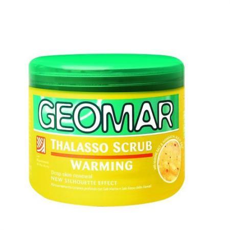 GEOMAR Талассо-скраб с ароматом банана 600 г масло для тела geomar geomar ge003lubbi58