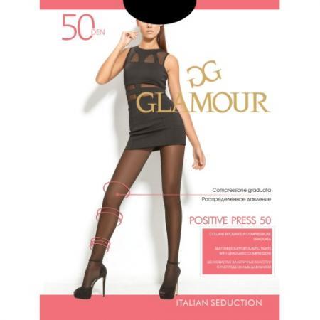 Колготки GLAMOUR Positive press 3 50 den бледно-коричневый колготки glamour glamour gl302fwqky38
