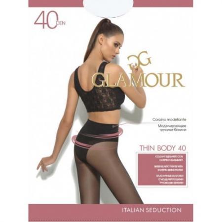 Glamour Колготки Thin Body 40 Miele, 2 ваза glamour 67х40х40
