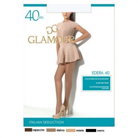 Glamour Колготки Edera 40 Nero, 5 ваза glamour 67х40х40