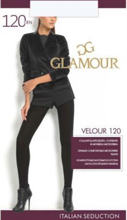 Glamour Колготки Velour 120 Nero, 4 ваза glamour 67х40х40