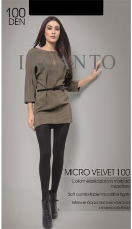 Incanto Колготки Micro Velvet 100 Nero, 2 incanto колготки cosmo 40 daino 2
