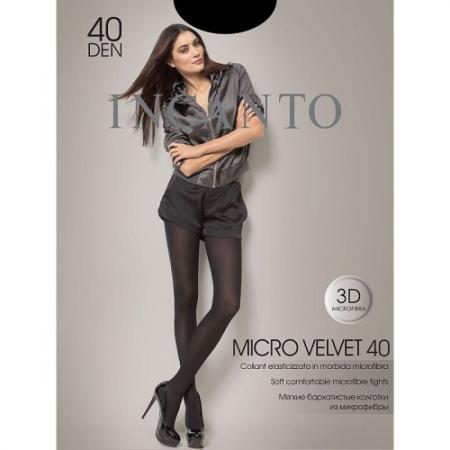 Incanto Колготки Microvelvet 40 Nero, 2 incanto колготки cosmo 40 daino 2