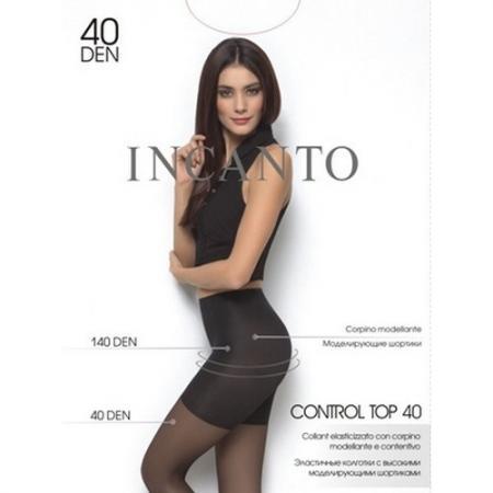 Incanto колготки Control Top 40 BS Nero, 2 incanto колготки cosmo 40 daino 2