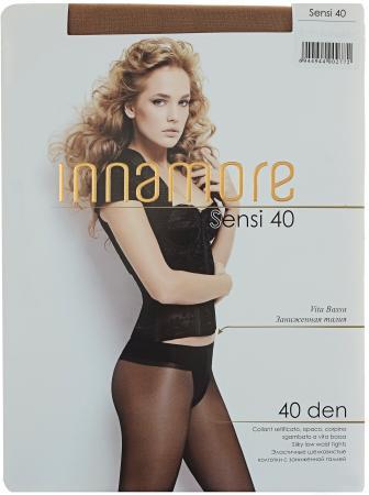 Innamore Колготки Sensi 40 VB Daino, 2 innamore трусы innamore icd33181 basic lace ванильный