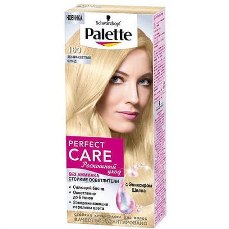 PALETTE PERFECT CARE Крем-краска 100 Экстра-светлый блонд 120 мл palette