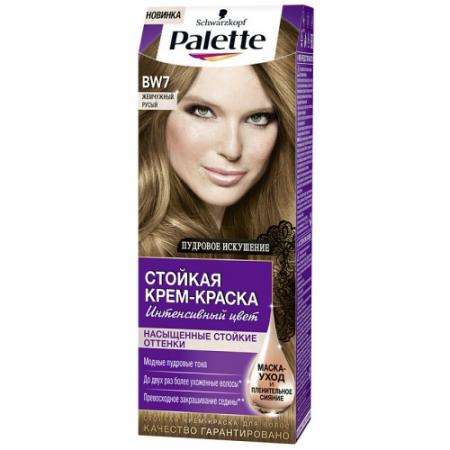 PALETTE Стойкая крем-краска BW7 Жемчужный русый 110 мл цена