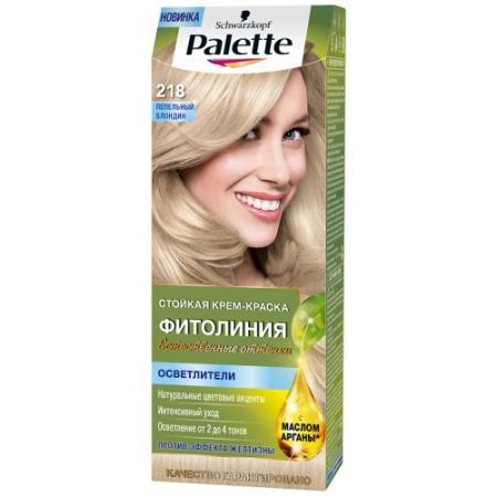 Palette ФИТОЛИНИЯ 218 Пепельный блондин 110 мл palette фитолиния 663 пряный эспрессо 110 мл