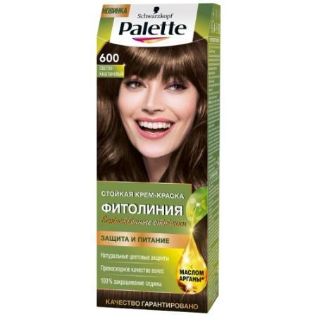все цены на Palette ФИТОЛИНИЯ 600 Светло-каштановый 110 мл