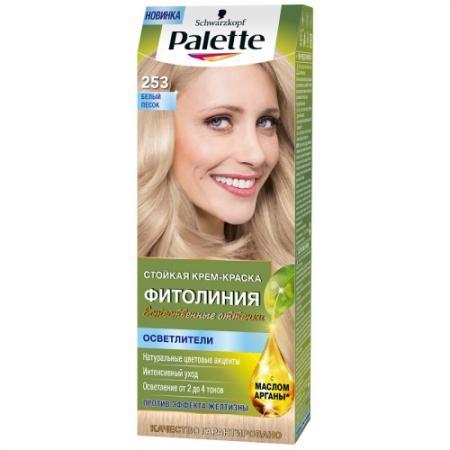 PALETTE ФИТОЛИНИЯ 253 Белый песок 110 мл schwarzkopf professional краска для волос palette фитолиния без аммиака 25 оттенков 50 мл 900 черный 50 мл