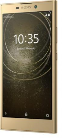 Смартфон SONY Xperia L2 золотистый 5.5 32 Гб NFC LTE Wi-Fi GPS 3G H4311Gold аксессуар чехол samsung galaxy s8 silicone cover light blue ef pg950tlegru