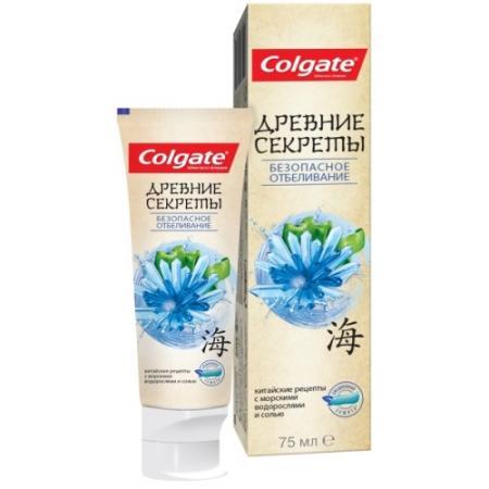 Зубная паста Colgate Древние Секреты Безопасное Отбеливание 75 мл CN05782A colgate зубная паста комплексная 12 pro здоровое дыхание colgate 75 мл