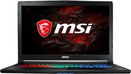 Ноутбук MSI GP72M 7REX-1273RU Leopard Pro 17.3 1920x1080 Intel Core i7-7700HQ 1 Tb 512 Gb 16Gb nVidia GeForce GTX 1050Ti 4096 Мб черный Windows 10 Home 9S7-1799D3-1273 ноутбук msi gp62m 7rex 1281ru leopard pro intel core i7 7700hq 2800 mhz 15 6 1920х1080 8192mb 1000gb hdd dvd нет nvidia geforce gtx 1050 ti wifi windows 10 x64