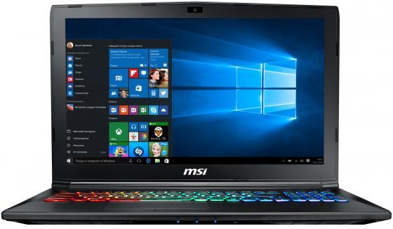 Ноутбук MSI GP62M 7REX Leopard Pro 15.6 1920x1080 Intel Core i7-7700HQ 1 Tb 128 Gb 16Gb nVidia GeForce GTX 1050Ti 4096 Мб черный Windows 10 9S7-16J9B2-1669 ноутбук msi gp72 6qf 274ru leopard pro 17 3 1920x1080 intel core i5 6300hq 9s7 179553 274