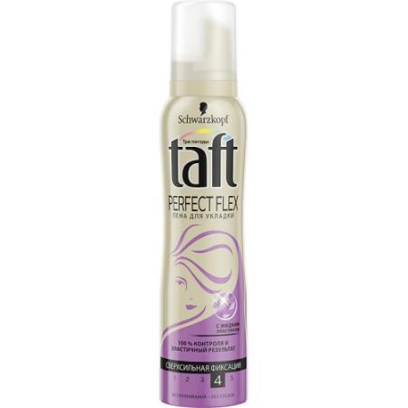 Пена для укладки волос Taft пенка Три погоды: Perfect Flex 150 мл taft невидимая фиксация максимально сильная фиксация 150 мл