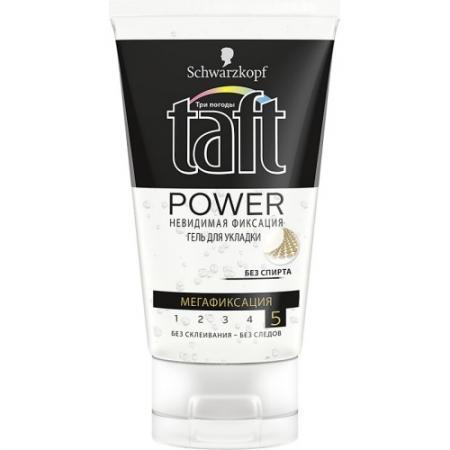 Гель для укладки волос Taft гель Power: Невидимая фиксация 150 мл