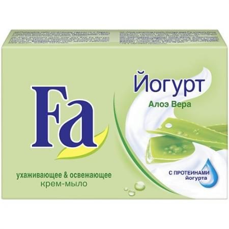 Fa Мыло Кусковое YOGHURT Алоэ Вера 90г гели fa гель для душа yoghurt алоэ вера 250 мл